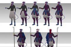 Aanor, Tiefling Echo Knight - Concept Art - UriellActaea, 2D Artist and Illustrator