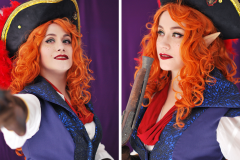 Selfportrait - Captain Avantika - Critical Role cosplay - UriellActaea