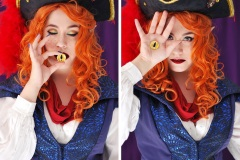 Selfportrait 04 - Captain Avantika - Critical Role cosplay - UriellActaea