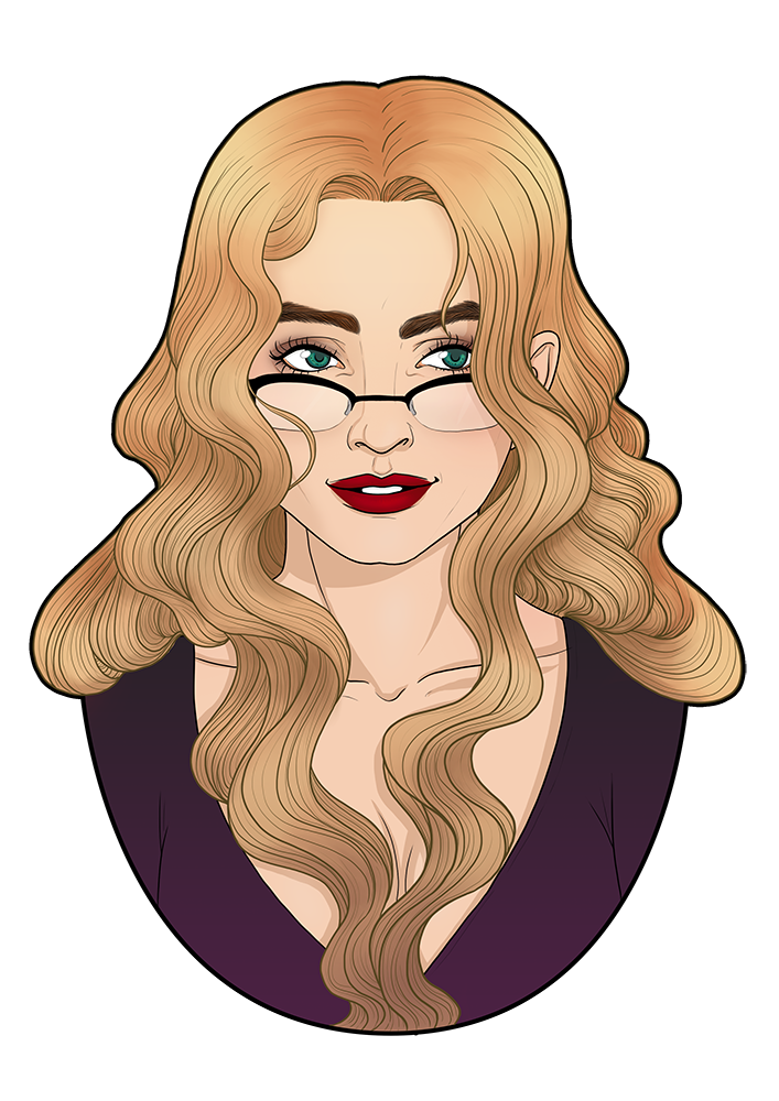 Selfportrait - UriellActaea, 2D artist and illustrator
