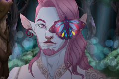 Caduceus Clay - Critical Role Fan Art -UriellActaea, 2D Artist and Illustrator