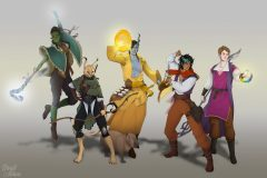 Pathfinder Group - Pathfinder Character Illustration - UriellActaea, 2D Artist and Illustrator