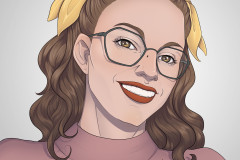 Lucie Larcher - Commission - Portrait - UriellActaea, 2D Artist and Illustrator