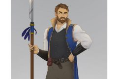 Talos - Human Fighter - DnD Character Illustration - UriellActaea, 2D Artist and Illustrator