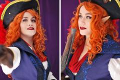 Selfportrait - Captain Avantika - Critical Role cosplay - UriellActaea