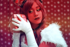 Selfportrait 03 - Ruby of the Sea cosplay - Santa Outfit - Critical Role cosplay - UriellActaea