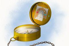 Traveler's Compass - DnD asset - UriellActaea, 2D Artist and Illustrator