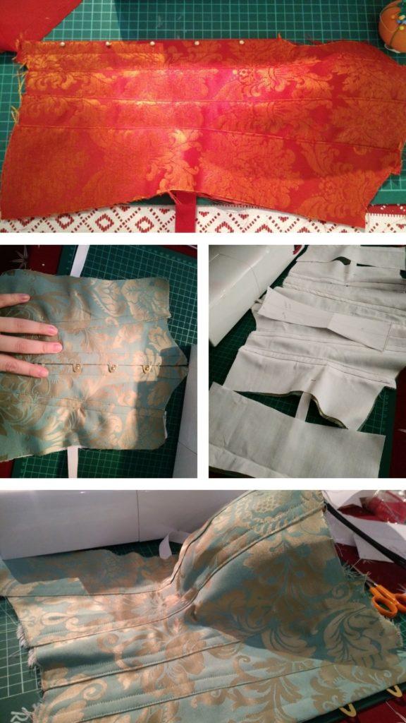 Corset Tutorial - Assembling the panels - UriellActaea, 2D Artist and Illustrator